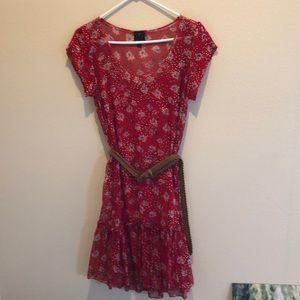 Playful red summer dress!